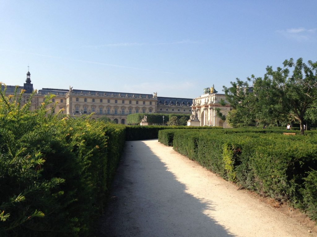 Pathways in the Tuileries