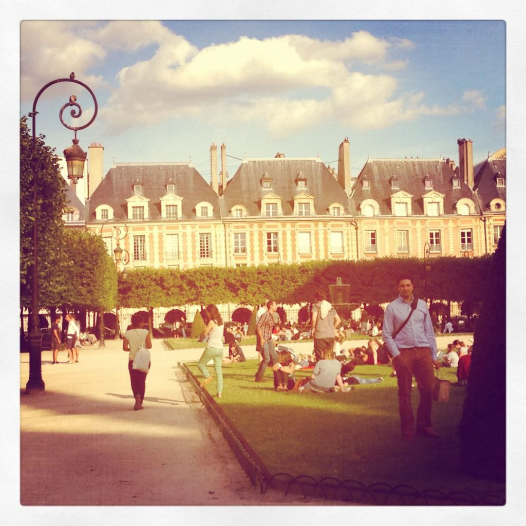 Place des Vosges....definitely a fun spot to just kill a few hours with a book or picnic
