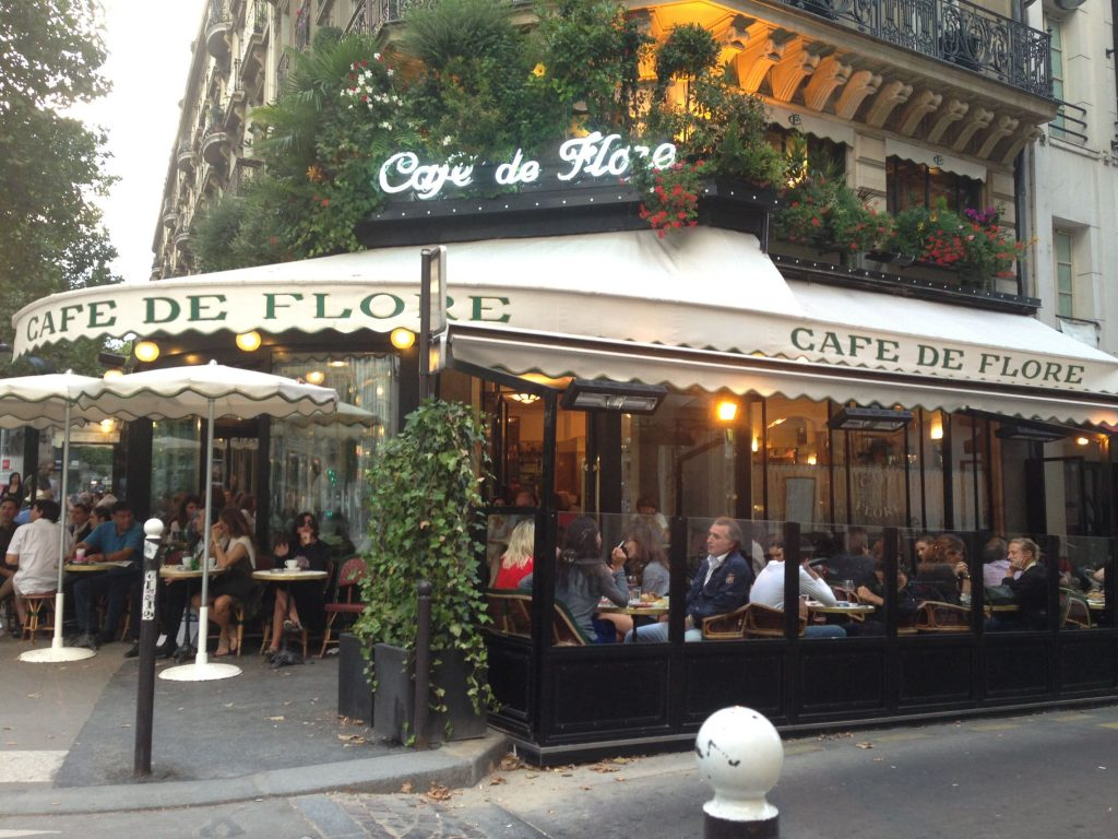 St. Germain - the cafe viennois here is one of the best in Paris!  Such a great spot for people watching.