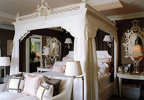 Haute homes mary mcdonald designs strawberry milk events for Interior design canopy bed
