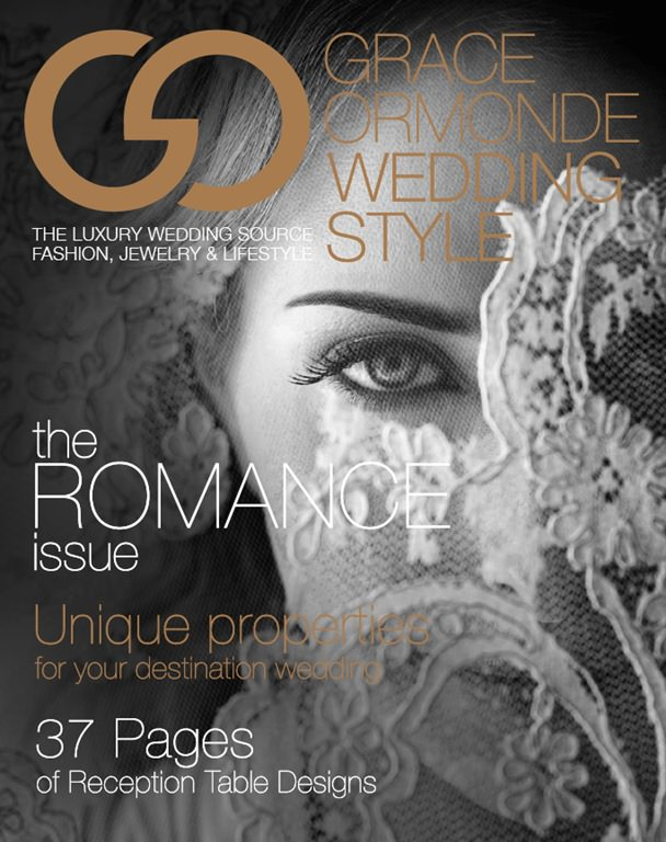 featured in grace ormondes weddingstyle magazine